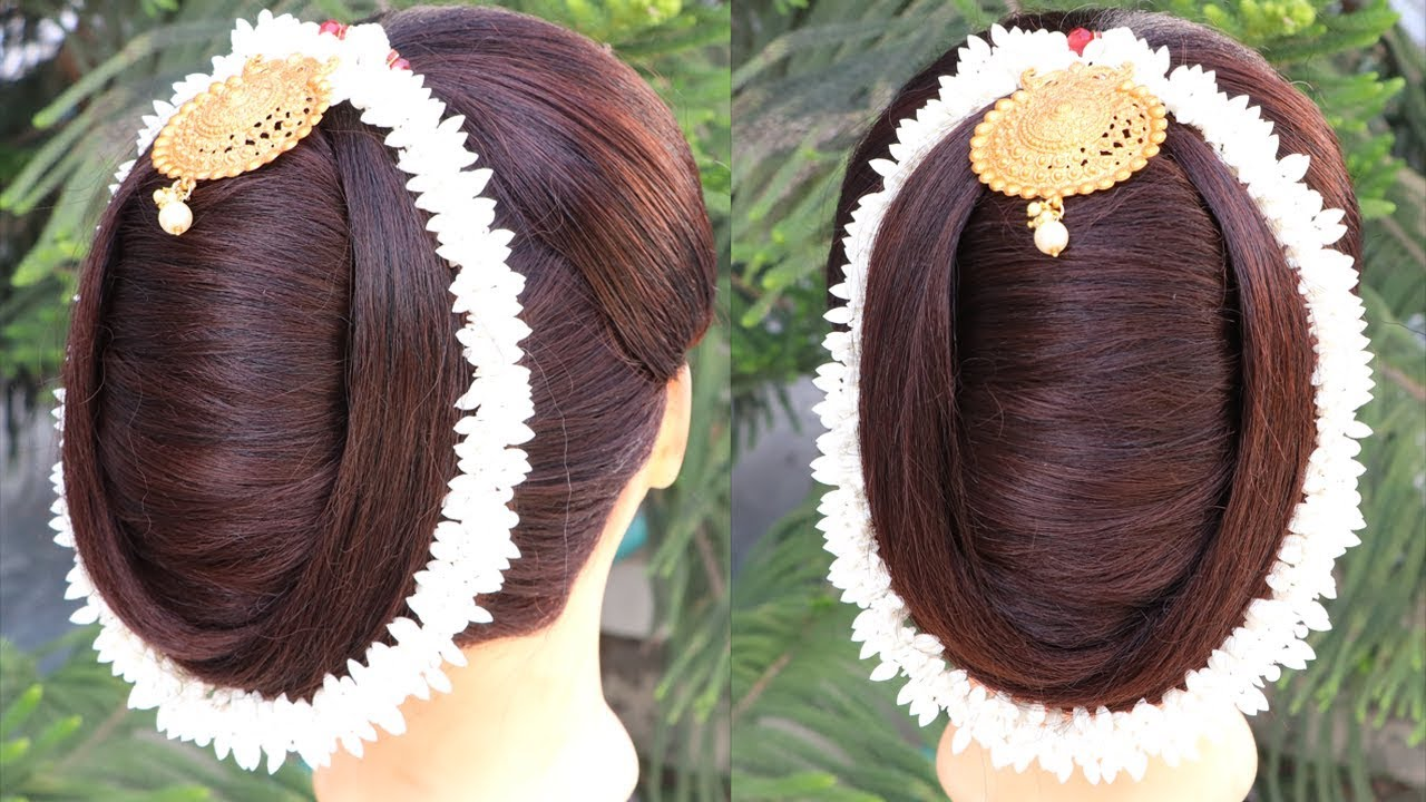 Most-Beautiful-Easy-French-Bun-Hairstyle