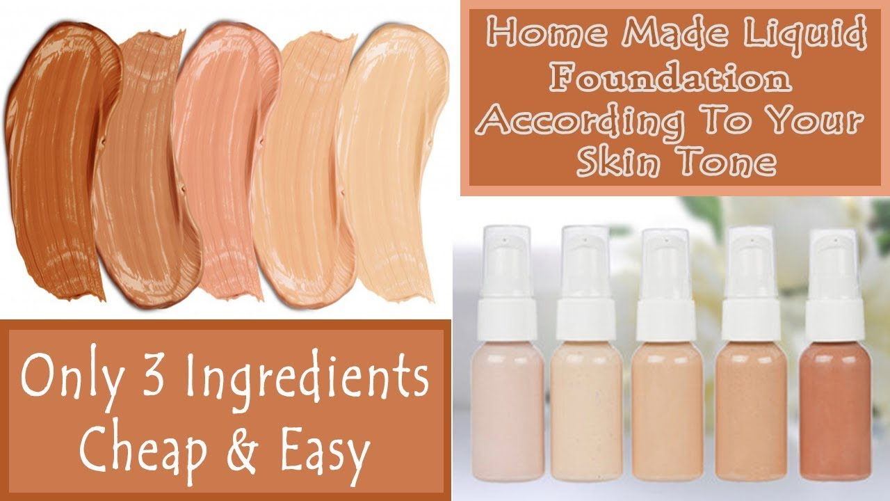 make-foundation-home-according-skin-tone