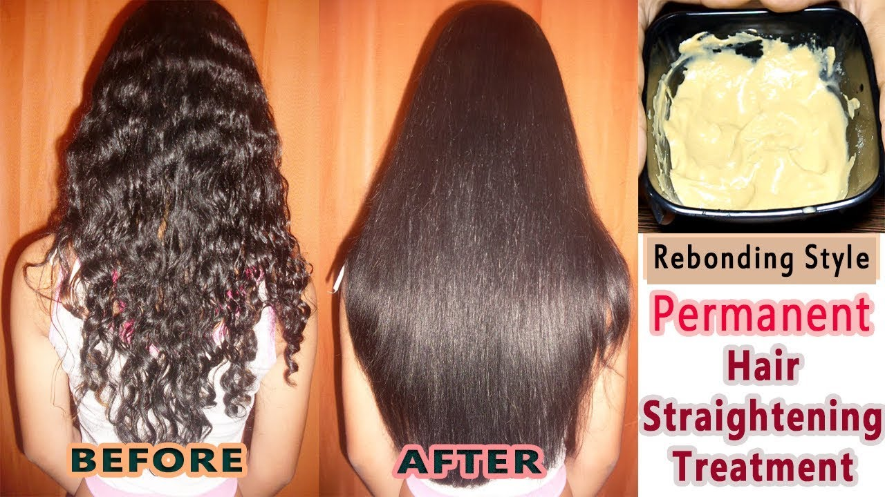 permanent-hair-straightening-homere-bonding-style-straight-hair-home-naturally